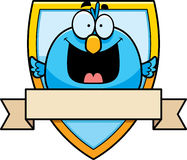 Cartoon Bird Badge Royalty Free Stock Photography