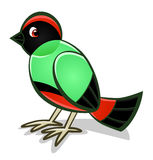 Cartoon bird 2 Stock Photo