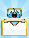 Cartoon Bird Sign Royalty Free Stock Image