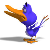 Cartoon Bird Twitter Stock Image