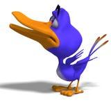Cartoon Bird Twitter Stock Image