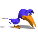 Cartoon Bird Twitter Royalty Free Stock Photos