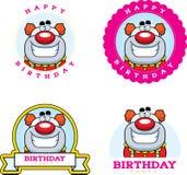 Cartoon Birthday Clown Graphic Stock Image