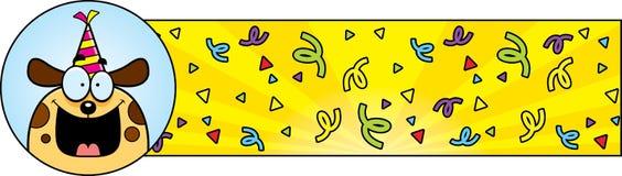 Cartoon Birthday Dog Graphic Stock Photos