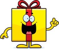 Cartoon Birthday Gift Idea Royalty Free Stock Photos