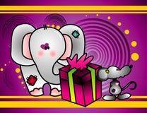 Cartoon birthday vector  Stock Photo