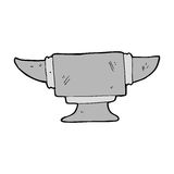 cartoon blacksmith anvil Royalty Free Stock Photos