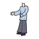 Cartoon body  (mix and match cartoons or add own photos) Royalty Free Stock Images