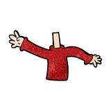 Cartoon body (mix and match cartoons or add own photos) Stock Images