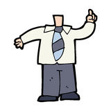 Cartoon body (mix and match cartoons or add photo faces) Stock Photography