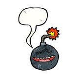 Cartoon bomb Stock Photo