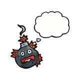 Cartoon bomb Stock Image