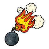 Cartoon bomb Royalty Free Stock Images