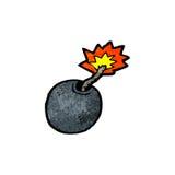 Cartoon bomb Royalty Free Stock Photography