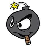 Cartoon bomb Royalty Free Stock Image