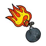 Cartoon bomb Royalty Free Stock Photos