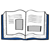 Cartoon book Royalty Free Stock Images