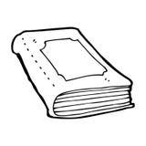 cartoon book Stock Image