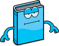 Cartoon Book Bored Stock Image