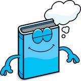 Cartoon Book Dreaming Royalty Free Stock Photos