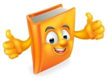 Cartoon Book Man Stock Images