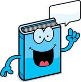 Cartoon Book Talking. A cartoon illustration of a book talking Royalty Free Stock Images
