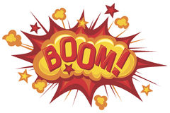 Cartoon-boom Stock Photography