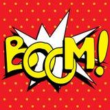 Cartoon Boom explosion, Royalty Free Stock Photo
