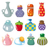 Cartoon bottle icon Stock Photo