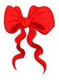 Cartoon Bow - Christmas Vector Illustration vector illustration