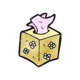 Cartoon box of tissues Stock Photo