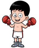 Cartoon boxing Royalty Free Stock Photo
