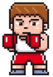 Cartoon Boxing Royalty Free Stock Photos