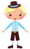 Cartoon boy Royalty Free Stock Image