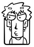 Cartoon boy Stock Image