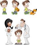 Cartoon boy Stock Photos