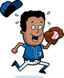 Cartoon Boy Baseball Royalty Free Stock Photos