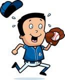 Cartoon Boy Baseball Royalty Free Stock Photography