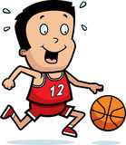 Cartoon Boy Basketball Royalty Free Stock Image