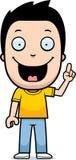 Cartoon Boy Idea Stock Image