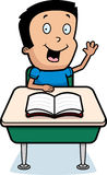 Cartoon Boy School Stock Images