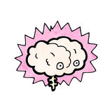 Cartoon brain Stock Images