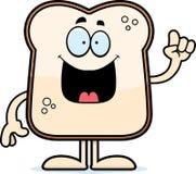 Cartoon Bread Idea Stock Photos