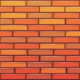 Cartoon Brick Wall Royalty Free Stock Images