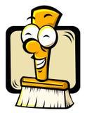 Cartoon broom Royalty Free Stock Photo