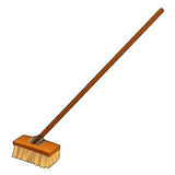 Cartoon Broom Stock Images