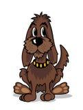 Cartoon brown dog Royalty Free Stock Photos