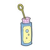 Cartoon bubble blower Stock Photo
