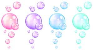 Cartoon Bubbles Stock Photography