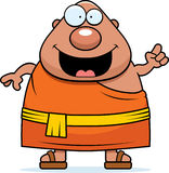 Cartoon Buddhist Monk Idea Stock Images